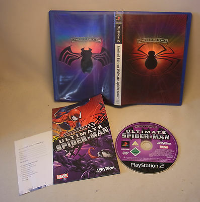 Playstation 2 PS Video Game Spiel Limited Edition Ultimate Spiderman