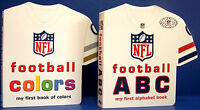 Nfl Football Colors My First Book Of Colors & Nfl Abc My First Alphabet Book