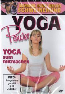 Yoga-Power-Yoga-zum-Mitmachen-NEU-DVD-Gesundheit-Sport-Fitness