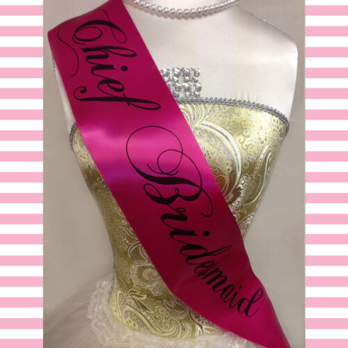 HEN PARTY SASHES SASH Cheap High Quality Hen Night Accessories Pink and Black