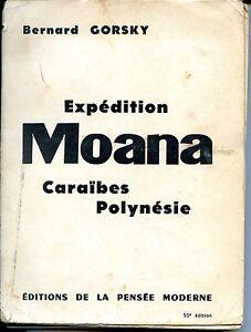 EXPEDITION-MOANA-Caraibes-Polynesie-B-Gorsky-1959-Plongee-sous-marine
