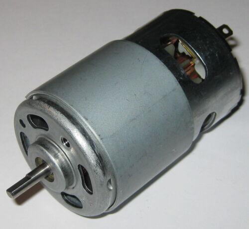 17,600 RPM 185 Watt 1//4 HP Motor 775 Frame Size 14.4 VDC Electric Motor
