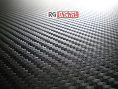 PELLICOLA CARBONIO ROTOLO 3D NERO 150X150 CM ADESIVO STRISCIA TUNING AUTO