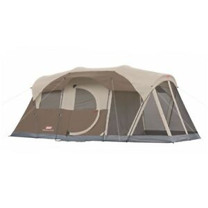 Coleman WeatherMaster 6-Person Family Tent With Screen Room | 2000027945