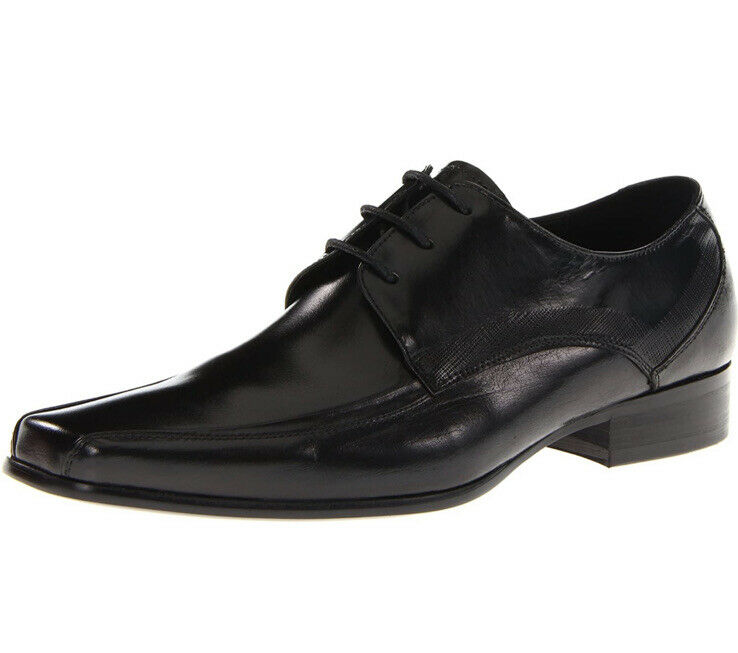 Kenneth Cole Mens Magic Place Black Oxford Dress Shoe Size 10 NIB