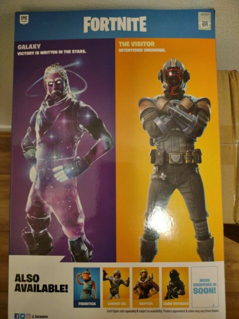 Fortnite Victory Series Duo Mode Action Figures Collectible Galaxy & The Visitor