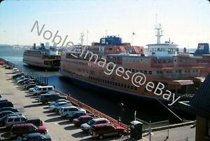 2005-Staten-Island-Ferry-New-York-City-Spirit-of-America-Scene-Kodachrome-Slide