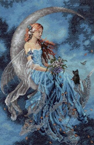 Counted Cross Stitch Kit ~ Dimensions Gold Collection Wind Moon Fairy #70-35393