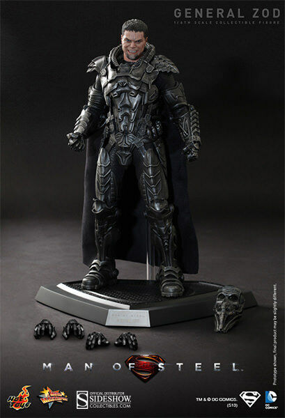 HOT TOYS DC SUPERMAN MAN OF STEEL GENERAL ZOD 1:6 FIGURE ~Sealed in marrone Box~