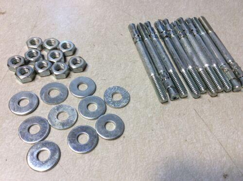 Concrete Wedge Anchors 1//4 X 3 Qty 10 #63329