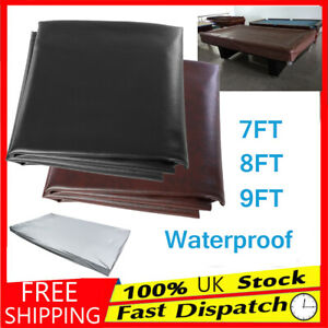 7//8//9ft Polyester Waterproof Fabric Outdoor Pool Snooker Billiard Table Cover