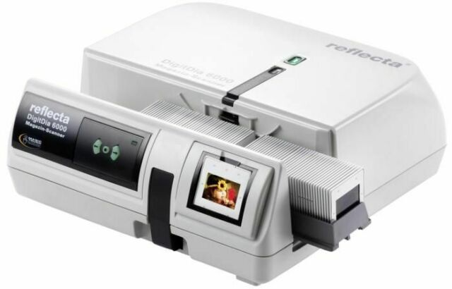 Reflecta DigitDia 6000 Diascanner Magazinvoll funktionsfähig super Zustand VB