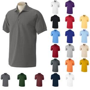 ss-Gildan-DryBlend-Mens-Polo-Sport-Shirt-Jersey-T-Shirt-8800-Size-SMALL