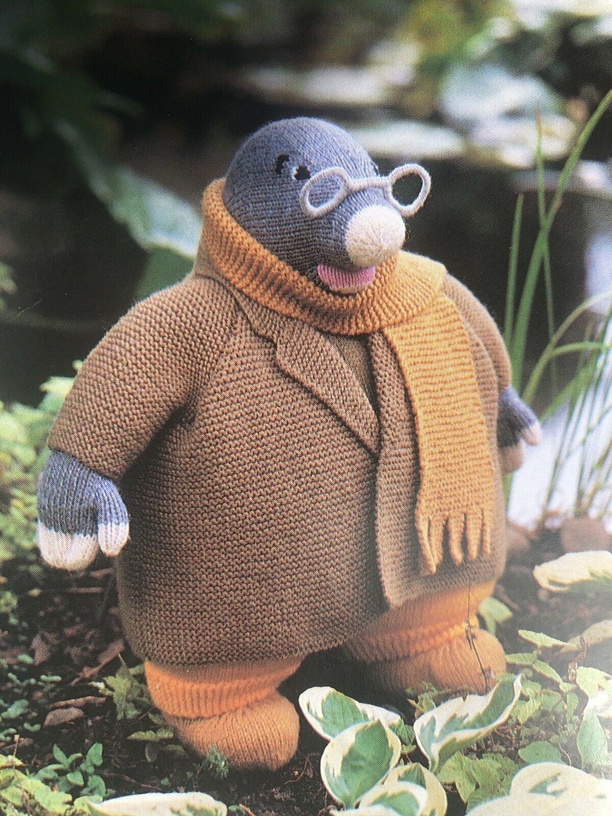 Ratty Mole Badger Toad Characters Wind in Willows Counted Cross Stitch Pattern