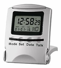 Acctim Talking Alarm Clock For Blind & Partially Sighted Folding Travel Clock