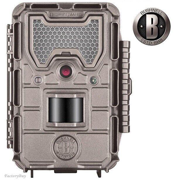 Bushnell Essential 119837C E3 Field Game Camera 16MP Low Glow Tan Trophy Cam HD