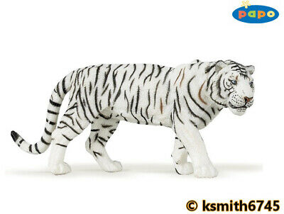 NEW * Papo TIGER CUB solid plastic toy figure wild zoo animal cat baby