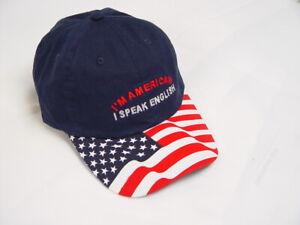 I'm American I Speak English - hat cap