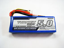 TURNIGY Lipo Battery 3S 30C-40C 5A 5000mAh 11.1v Lithium Polymer Pack 3 Cell J3