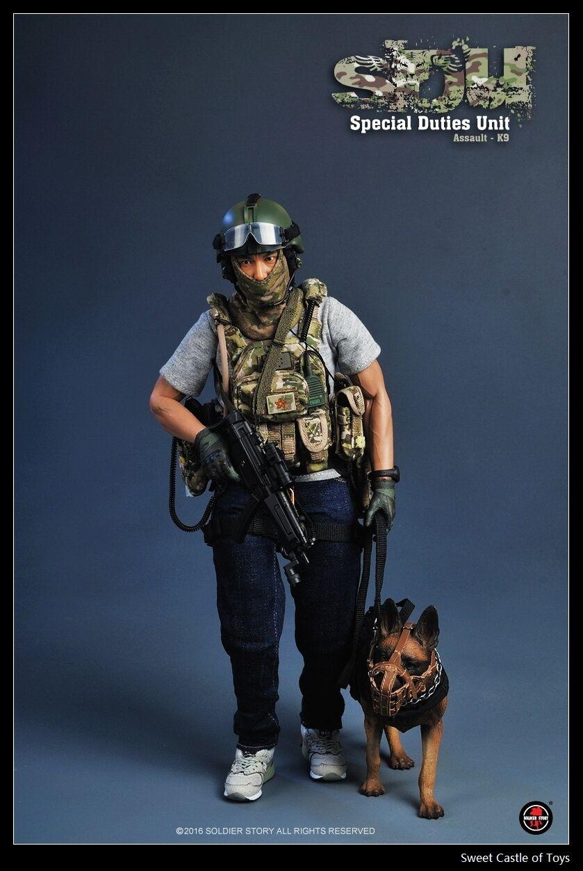 1 6 Soldier Story Story Story ActionFigure HongKong SDU Special Duties Unit Assault K9 SS097 b245ea