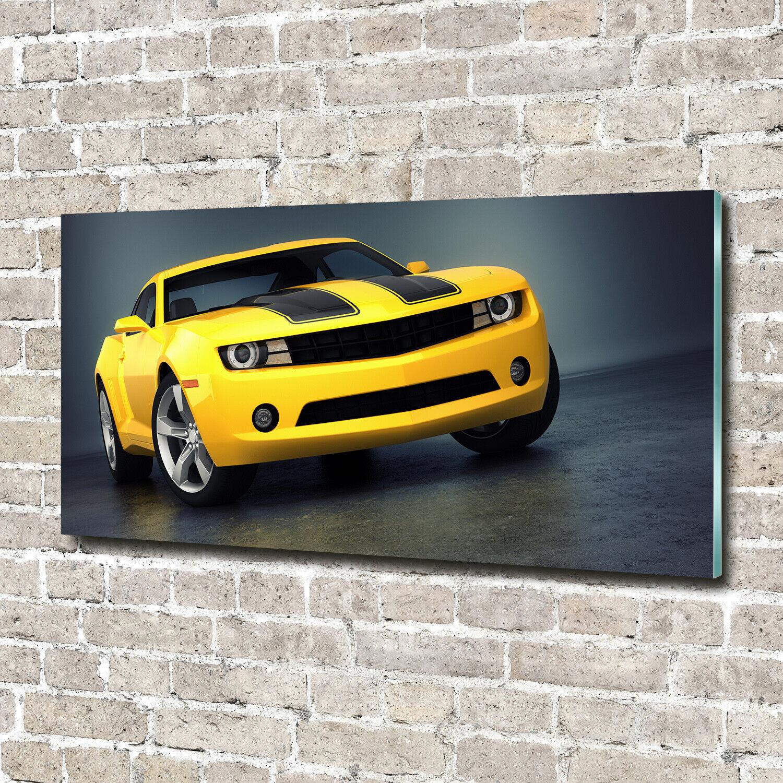 Glas-Bild Wandbilder Druck auf Glas 140x70 Deko Fahrzeuge Sportwagen