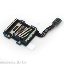 SD Memory Card Tray Slot Holder Flex For Samsung Galaxy S3 mini GT-I8190 b195