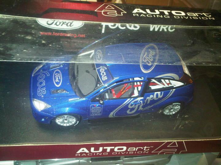 1999 FORD FOCUS WRC Présentation Voiture (Bleu) 1 18 Rallye  Voiture AUTOART Prix inférieur  meilleurs prix et styles les plus frais