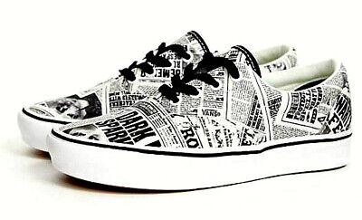 Vans X Harry Potter Comfycush Newspaper Era Skate Shoes