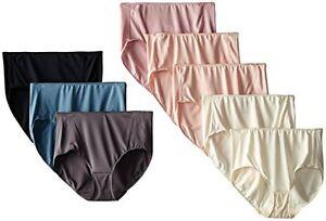Hanes-Womens-Panties-Microfiber-Brief-Pack-of-8-Pick-SZ-Color