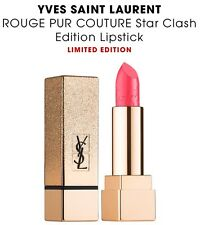 YSL YVES SAINT LAURENT ROUGE PUR COUTURE Star Clash Lipstick 52 Rouge Rose AUTHT