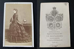 Reutlinger-Paris-la-comedienne-Marie-Favart-Vintage-albumen-print-CDV