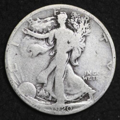 ** 1920-S Walking Liberty Silver Half Dollar FREE SHIPPING!