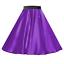 Girls-SATIN-Rock-n-Roll-Skirt-UK-1950s-Costume-Grease-Fancy-dress-ROCKABILLY thumbnail 19