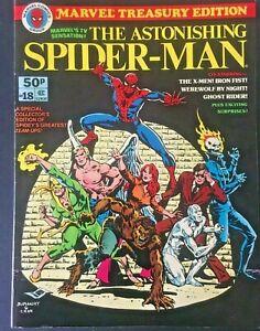 MARVEL-TREASURY-EDITION-THE-ASTONISHING-SPIDERMAN-NO-18-VINTAGE-1978-FN