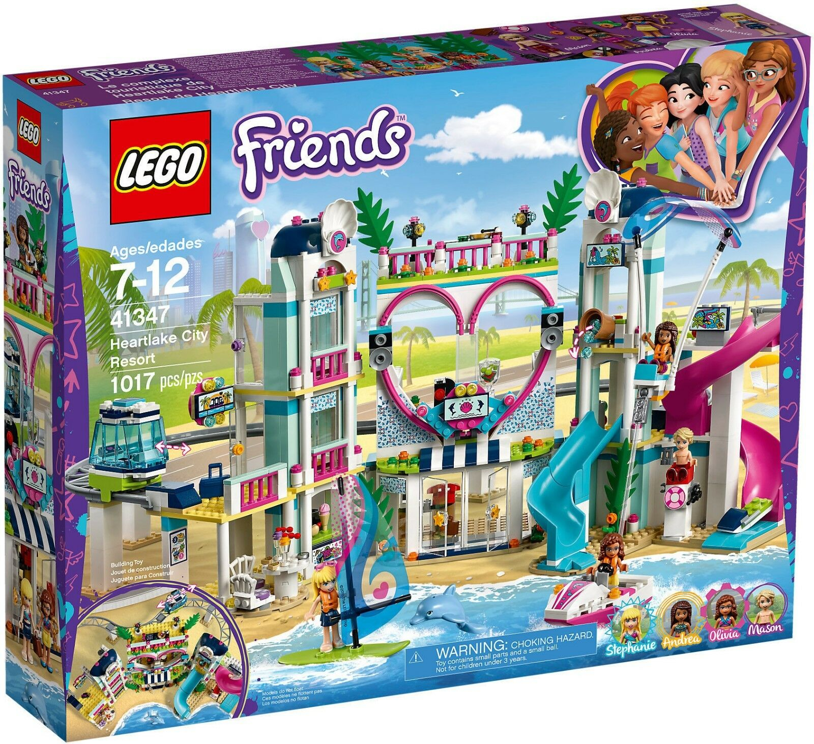 LEGO Friends 41347 - Il Resort Di Heartlake City NUOVO