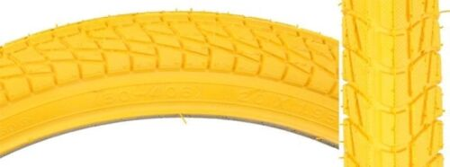 "Kenda K841 Kontact Yellow 20/"" x 1.95/""  BMX Bike Tire 20x1.95 Freestyle Skate"