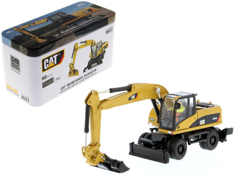 CAT Caterpillar M318D Wheeled Excavator with Operator  High Line  Series 1 87 (H