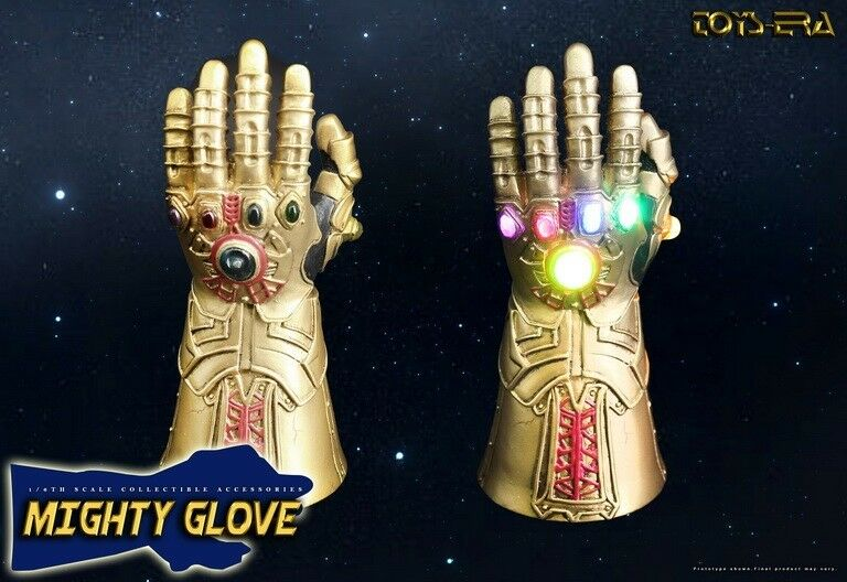 Avengers Infinity War LED Infinity Gauntlet Gauntlet Gauntlet 1 6th scale for hottoys Thanos b2a5fb