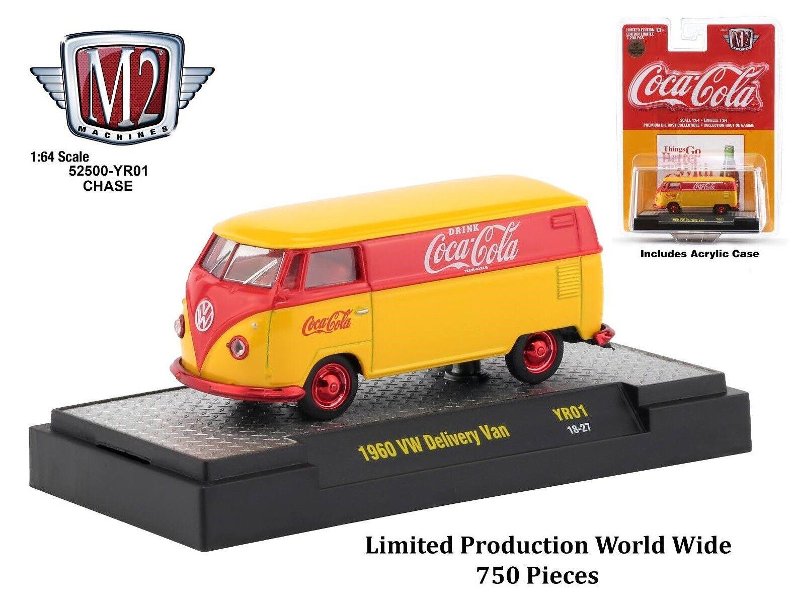 Venta al por mayor barato y de alta calidad. 1 1 1 64 máquinas M2  coca Cola Coke año 01   1960 VW entrega Van Chase coche
