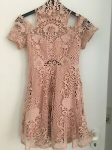 Kleid Love Triangle Zalando Gr 8 36 Nur 1x Getragen Rose Spitze Hochzeit Party Ebay