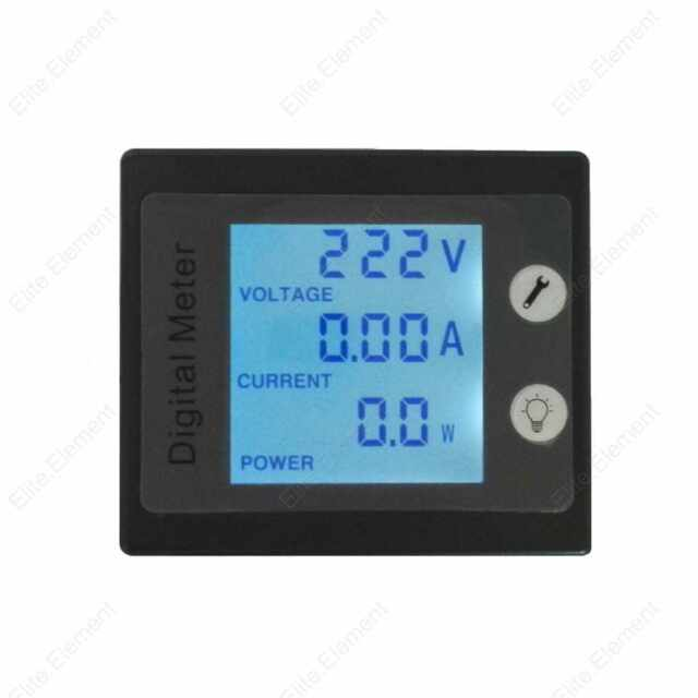 AC Combo Meter Voltage 80-260V Current 100A Power 22KW Energy KWH for 110V 220V
