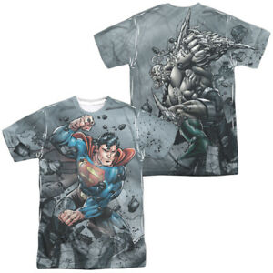 Authentic-DC-Comics-Superman-Vs-Doomsday-Sublimation-Allover-Front-Back-T-shirt