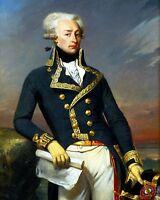 11x14 Photo: Revolutionary War Gen. Gilbert Du Motier, Marquis De Lafayette