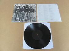 RAMONES S/T  DEBUT SIRE LP RARE ORIGINAL 1976 UK 1ST PRESSING MISPRESSED COPY