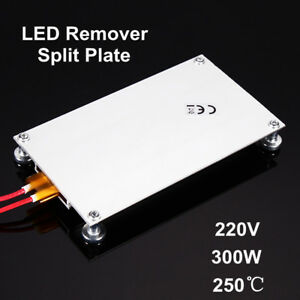 220V-300W-LED-PTC-Thermostatique-BGA-Plaque-Fendue-Chauffante-Temperature-Heater