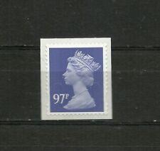 Great Britain Machin 97p OFNP SA 2B De La Rue Code M14L SG U2930A DG 970.3.1 MNH