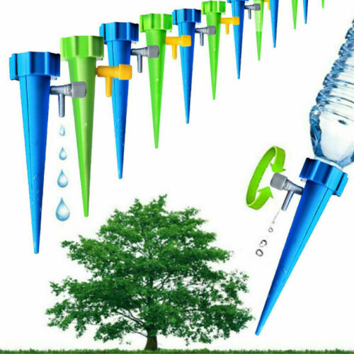 Wholesale 12//6PCS Self-contained Auto Drip Irrigation Watering Spike System Set