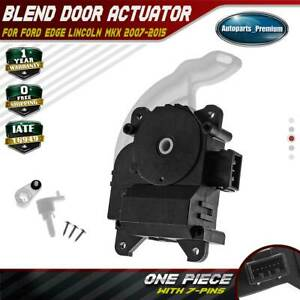 Heater Blend Door Actuator Mode For Ford Edge Lincoln Mkx Main 2007 2015 604 238 Ebay