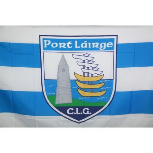 Waterford GAA Official 5 x 3 FT Flag Crested Irish Gaelic Football Hurling