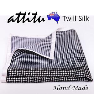 Twill-Silk-Vintage-Pocket-Square-Handkerchief-Hand-Made-ATTITU-Venice-Series